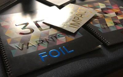 UV Spot Foil Print