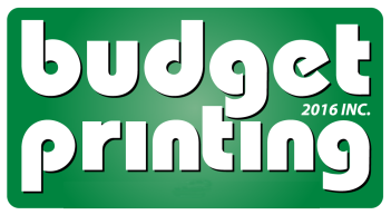 budget printing logo