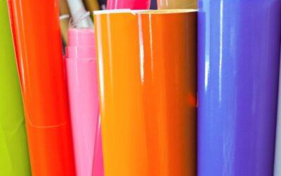vinyl printing material